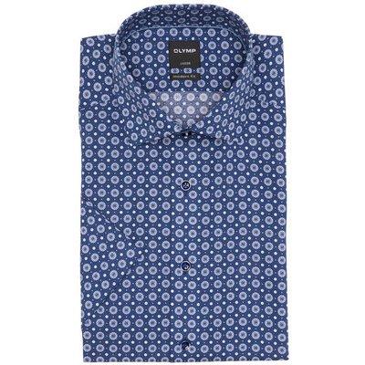 OLYMP Olymp Hemd Luxor Modern Fit blau