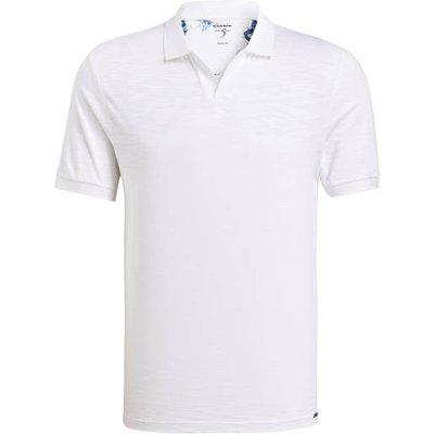 Olymp Jersey-Poloshirt weiss | OLYMP SALE