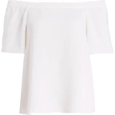 S.Oliver Black Label Off-Shoulder-Bluse weiss