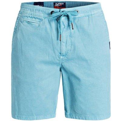 SUPERDRY Superdry Chino-Shorts blau