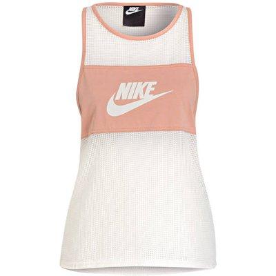 Nike Tanktop Mit Mesh-Einsätzen beige | NIKE SALE