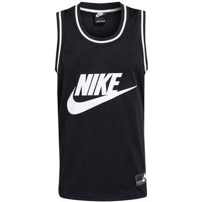 Nike Tanktop Aus Mesh schwarz