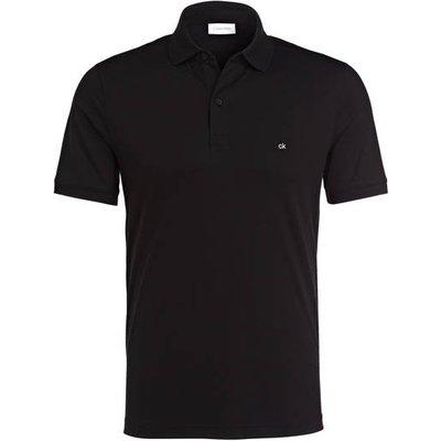 Calvin Klein Jersey-Poloshirt schwarz