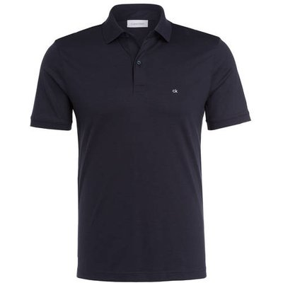 Calvin Klein Jersey-Poloshirt blau
