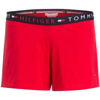TOMMY HILFIGER Tommy Hilfiger Lounge-Shorts rot
