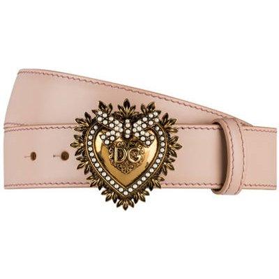 DOLCE & GABBANA Dolce&Gabbana Gürtel Devotion rosa