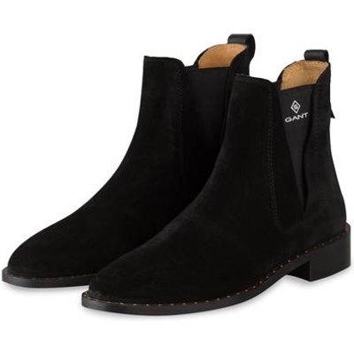 Gant Chelsea-Boots Hampton schwarz