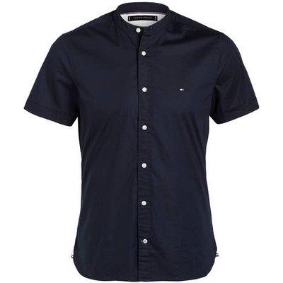 Tommy Hilfiger Halbarm-Hemd Slim Fit blau