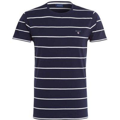 GANT Gant T-Shirt Breton blau
