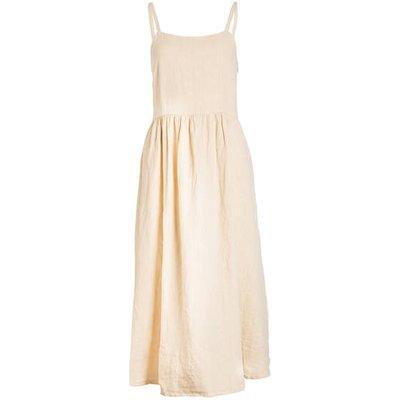 AMERICAN VINTAGE American Vintage Leinenkleid Zori gelb