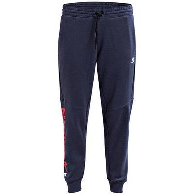 REEBOK Reebok Sweatpants Essentials Linear Logo blau