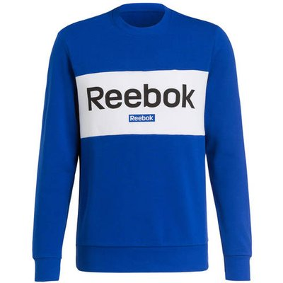 REEBOK Reebok Sweatshirt Essentials Linear Logo blau