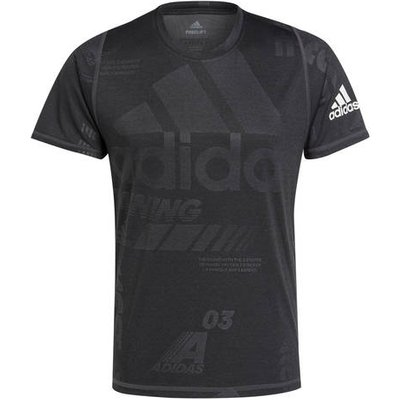 ADIDAS Adidas T-Shirt Freelift Daily Press schwarz