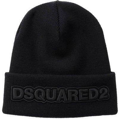 dsquared2 Wollmütze schwarz