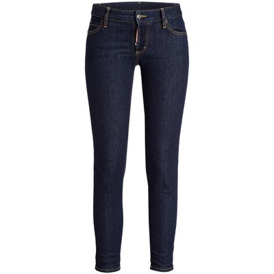 dsquared2 7/8-Jeans Jennifer Cropped blau