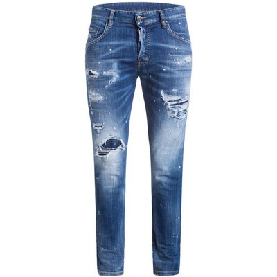 dsquared2 Jeans Skater Slim Fit blau