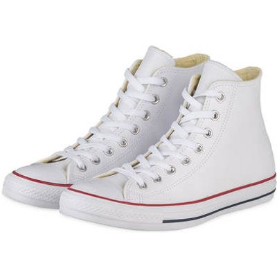 Converse Hightop-Sneaker Chuck Taylor All Star Leather weiss