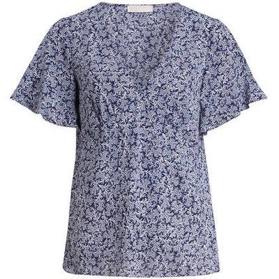 Michael Kors Blusenshirt blau