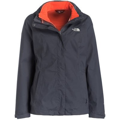 The North Face 2-In-1-Jacke Evolve Ii Triclimate grau