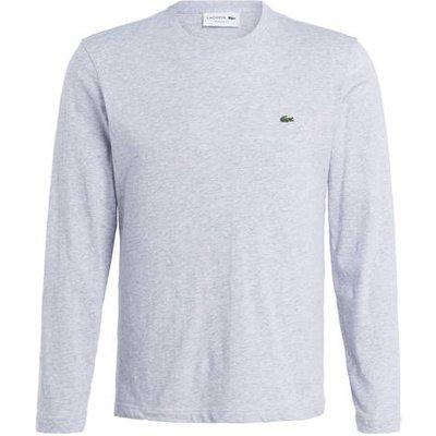 Lacoste Langarmshirt Regular Fit grau