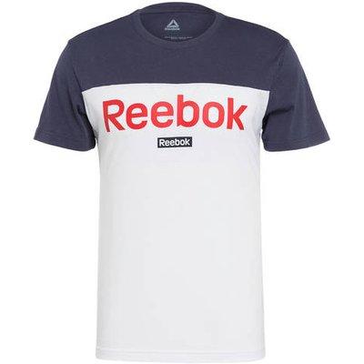 REEBOK Reebok T-Shirt Essentials Linear Logo weiss