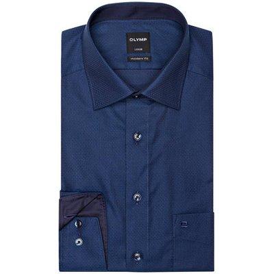 Olymp Hemd Luxor Modern Fit blau