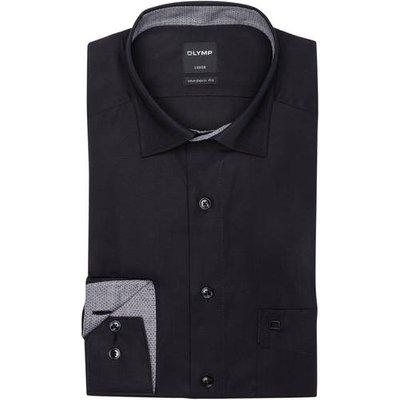 Olymp Hemd Luxor Modern Fit schwarz