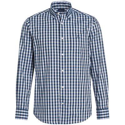 Gant Hemd Regular Fit blau