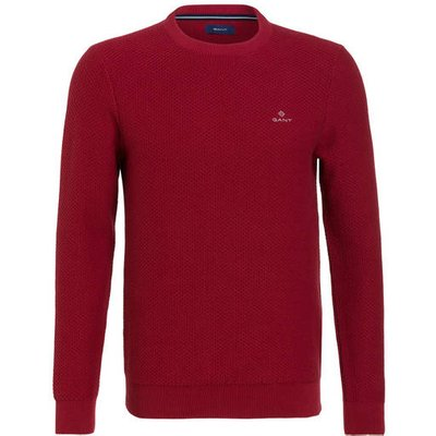 Gant Pullover Honeycomb rot