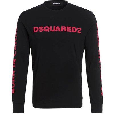 dsquared2 Langarmshirt schwarz