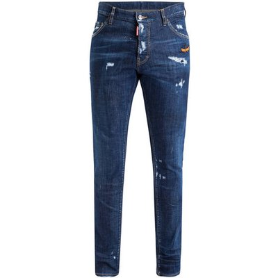 dsquared2 Destroyed Jeans Cool Guy blau