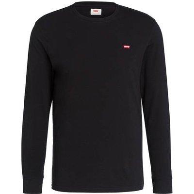 Levi's® Langarmshirt Original Regular Fit schwarz