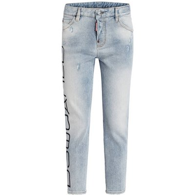 dsquared2 7/8-Jeans Cool Girl Cropped blau