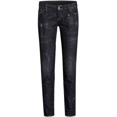 DSQUARED2 dsquared2 7/8-Jeans Jennifer schwarz