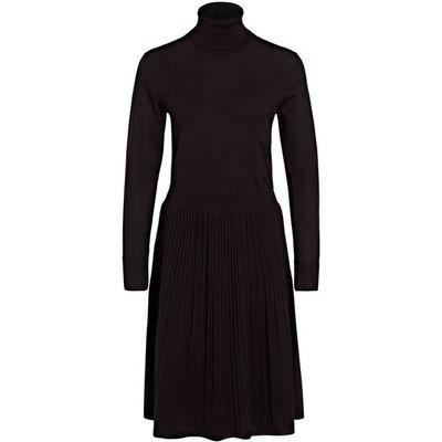 Calvin Klein Wollkleid schwarz