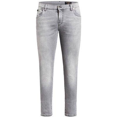 DOLCE & GABBANA Dolce&Gabbana Jeans Slim Fit grau