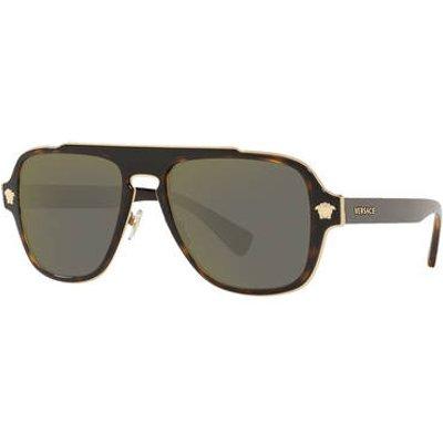 Versace Sonnenbrille ve2199 braun