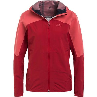 Salomon Outdoor-Jacke Outline rosa