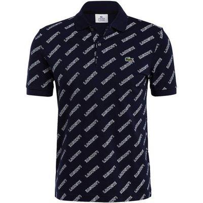 Lacoste L!Ve Piqué-Poloshirt Classic Fit blau