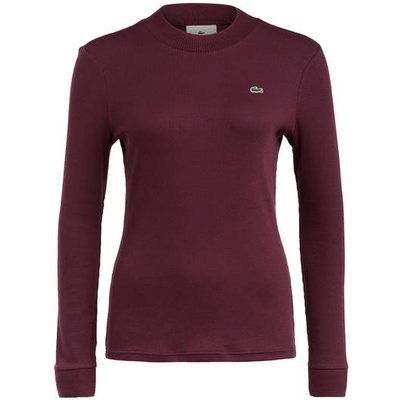 LACOSTE Lacoste L!Ve Pullover rot
