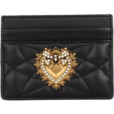 DOLCE & GABBANA Dolce&Gabbana Kartenetui Devotion schwarz