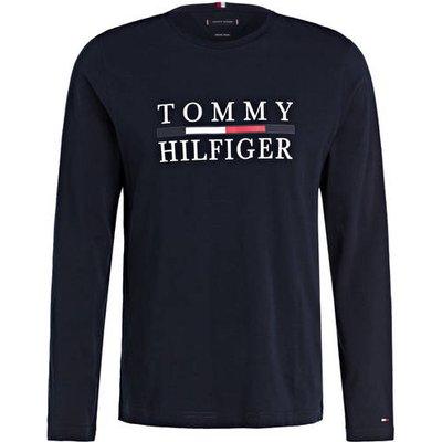 Tommy Hilfiger Langarmshirt blau