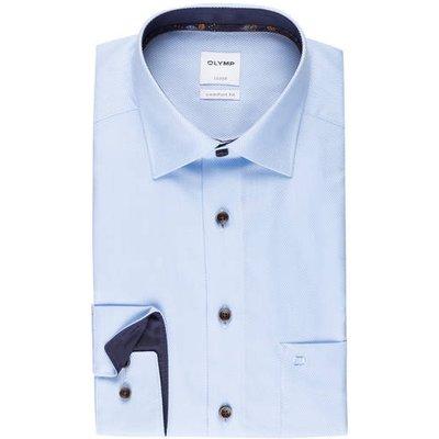 Olymp Hemd Luxor Comfort Fit blau