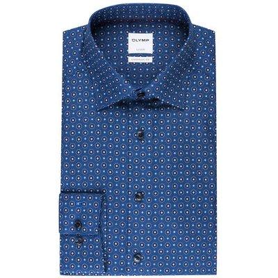 OLYMP Olymp Hemd Luxor Comfort Fit blau