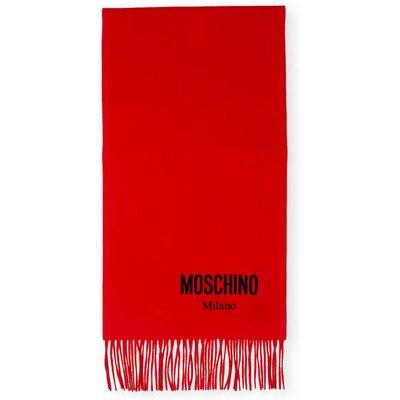Moschino Schal rot