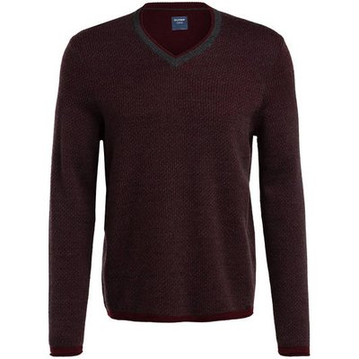 Olymp Pullover rot | OLYMP SALE