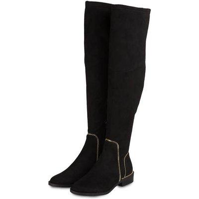 Guess Overknee-Stiefel Daziane schwarz