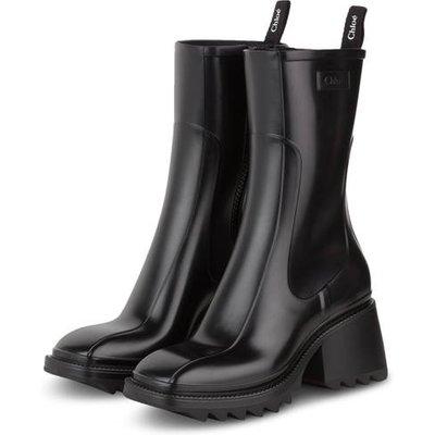 Chloé Gummi-Boots Betty schwarz