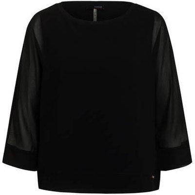 Cinque Blusenshirt Cifritzi schwarz