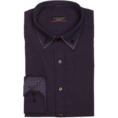 ETERNA Eterna Hemd Modern Fit violett